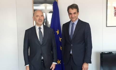 Μητσοτάκης: Παρουσίασε το σχέδιό του για έξοδο της Ελλάδας από την κρίση – Συνάντηση με Μέρκελ