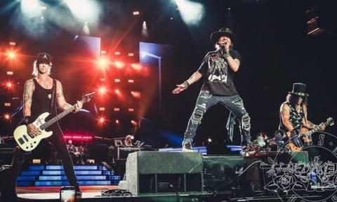 «Τhe Machine Is Back Tour»: Περιοδεία στην Ευρώπη ανακοίνωσαν οι Guns N' Roses (vid)