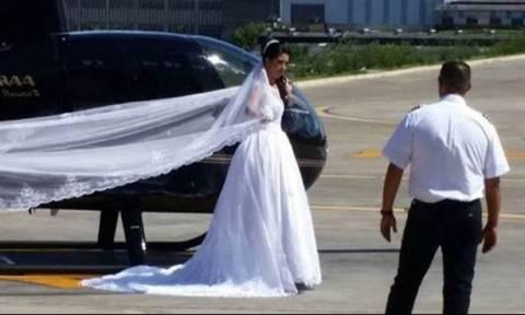 Βραζιλία: Η τραγική τύχη νύφης που πήγαινε στην εκκλησία με ελικόπτερο (pics)