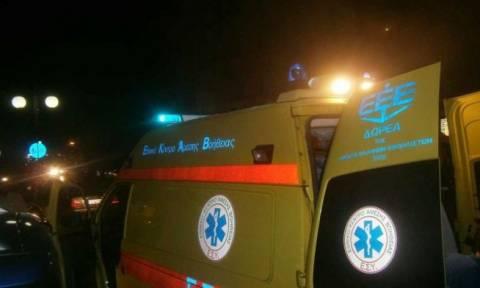 Σοβαρό τροχαίο στη Λεωφόρο Κηφισίας  - Αυτοκίνητο έπεσε σε στάση λεωφορείου