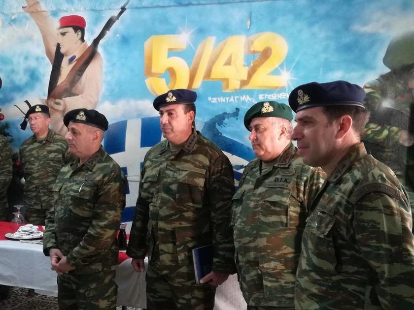 Επίσκεψη Αρχηγού ΓΕΣ στην ΠΕ/80 ΑΔΤΕ (pics)