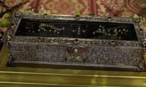 Λάρισα: Υποδέχθηκε τον Άγιο Σπυρίδωνα από την Κέρκυρα
