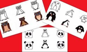 Διδάξτε στα παιδιά σας να ζωγραφίζουν δέκα αγαπημένα τους ζωάκια μέσα από τα σχήματα που γνωρίζουν