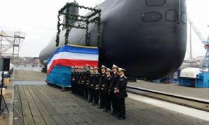 Το Πολεμικό Ναυτικό της Αιγύπτου παρέλαβε το πρώτο γερμανικό υποβρύχιο