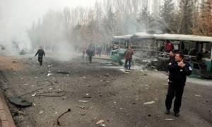 Έκρηξη Τουρκία: To PKK δείχνει ο Ερντογάν πίσω από το λουτρό αίματος στην Καισάρεια (pics+vids)