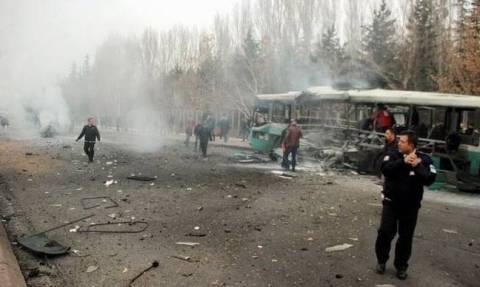 More than 25 wounded in Turkish bus blast, death toll unclear