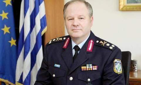 Ο Αρχηγός της ΕΛ.ΑΣ στην Πελοπόννησο