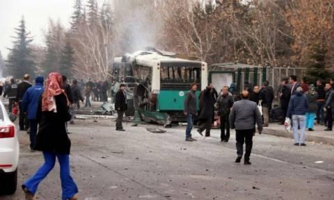 Turkey's Erdogan blames Kurdish militants after car bomb kills 13, wounds 55