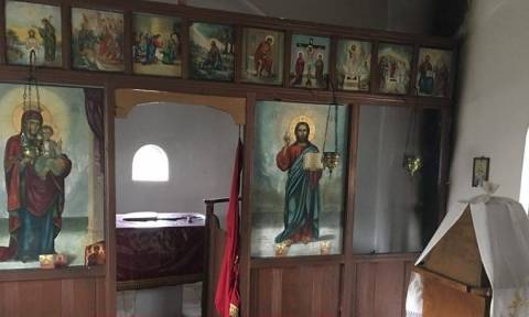 Απαράδεκτο! Βεβήλωση Ιερού Ναού στο Ηράκλειο