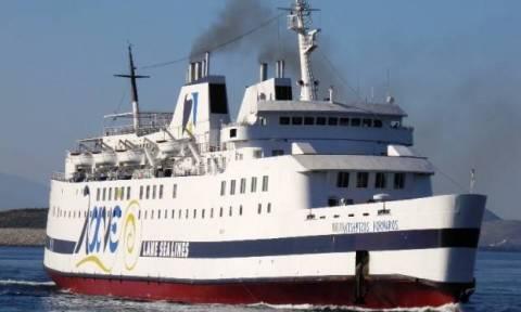 «Έβαλε» πλώρη για Χάλκη και Ρόδο το πλοίο Βιτσέντζος Κορνάρος