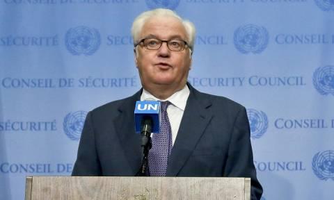 Чуркин: РФ не допустит принятия резолюции об отправке наблюдателей в Восточный Алеппо