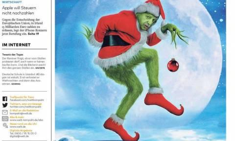 Σάλος στην Γερμανία από την είδηση ότι ο Ερντογάν απαγόρευσε τα Χριστούγεννα (Pics)