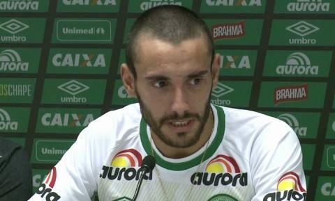 Συγκλονίζει ποδοσφαιριστής της Τσαπεκοένσε - Τι απίστευτο έγινε και σώθηκε από το δυστύχημα; (video)