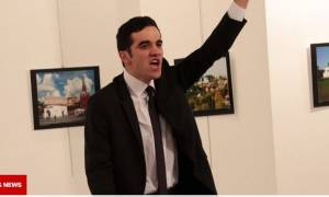 Τουρκία: Καρέ - καρέ η εν ψυχρώ δολοφονία του Ρώσου πρεσβευτή στην Άγκυρα