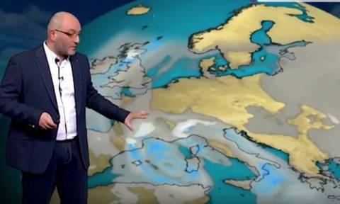 Σάκης Αρναούτογλου: Ανατροπή δεδομένων - Πού θα χιονίσει; (video)