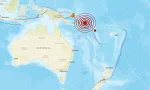 Ισχυρός σεισμός στα Νησιά του Σολομώντα
