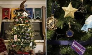 Χριστούγεννα 2016: Ένα χριστουγεννιάτικο δέντρο α λα «Χάρι Πότερ» (pics)