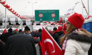 Τουρκία: Εγκαινιάστηκε το υποθαλάσσιο τούνελ που περνά κάτω από τον Βόσπορο (pics+vid)