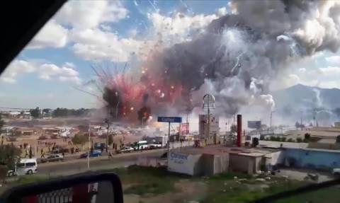 Μεξικό: Τραγωδία από έκρηξη σε αγορά πυροτεχνημάτων με 29 νεκρούς και δεκάδες τραυματίες (videos)