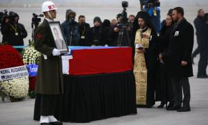 Ρωσία: Παρουσία Πούτιν η κηδεία του δολοφονηθέντα πρέσβη Καρλόφ (Pics+Vid)