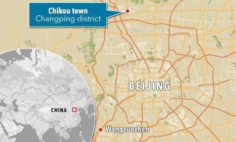 Αναστάτωση στο Πεκίνο: Μίνι βαν έπεσε σε κατάστημα - Νεκροί και τραυματίες
