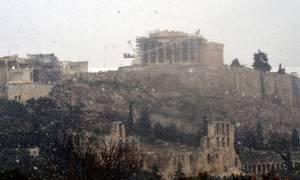 Όταν η Αθήνα είχε «πνιγεί» στο χιόνι το 1920 – Ρετρό φωτογραφίες από την κατάλευκη πρωτεύουσα