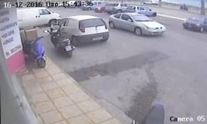 Ηράκλειο: Αναζητείται οδηγός για τροχαίο με τραυματισμό βρέφους και εγκατάλειψη