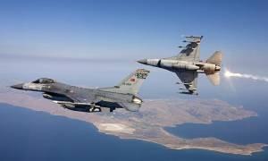 Σκηνικό πολέμου στο Αιγαίο: Εμπλοκή ελληνικών και τουρκικών μαχητικών