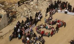 Συρία: Ολοκληρώθηκε η επιχείρηση απομάκρυνσης πληθυσμού από το ανατολικό Χαλέπι