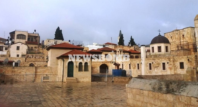 Το συγκρότημα του μοναστηριού των Αγίων Κωνσταντίνου και Ελένης