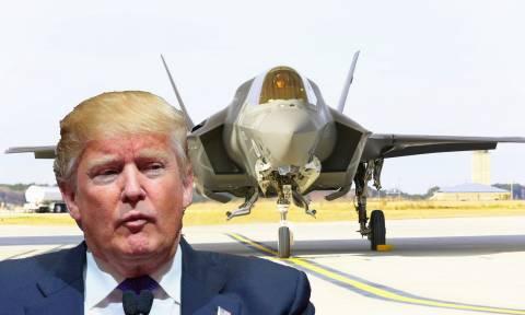 Ο Τραμπ ακυρώνει συμφωνία δισεκατομμυρίων για τα F-35 και μιλάει για νέα κούρσα εξοπλισμών