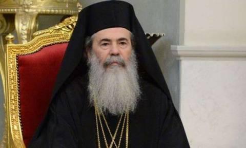 Πατριάρχης Ιεροσολύμων Θεόφιλος: Χριστουγεννιάτικο μήνυμα με παρέμβαση για την τρομοκρατία