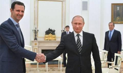 Μόνιμη ρωσική ναυτική βάση στη Συρία - Συγχαρητήρια για το Χαλέπι αντάλλαξαν Πούτιν και Άσαντ