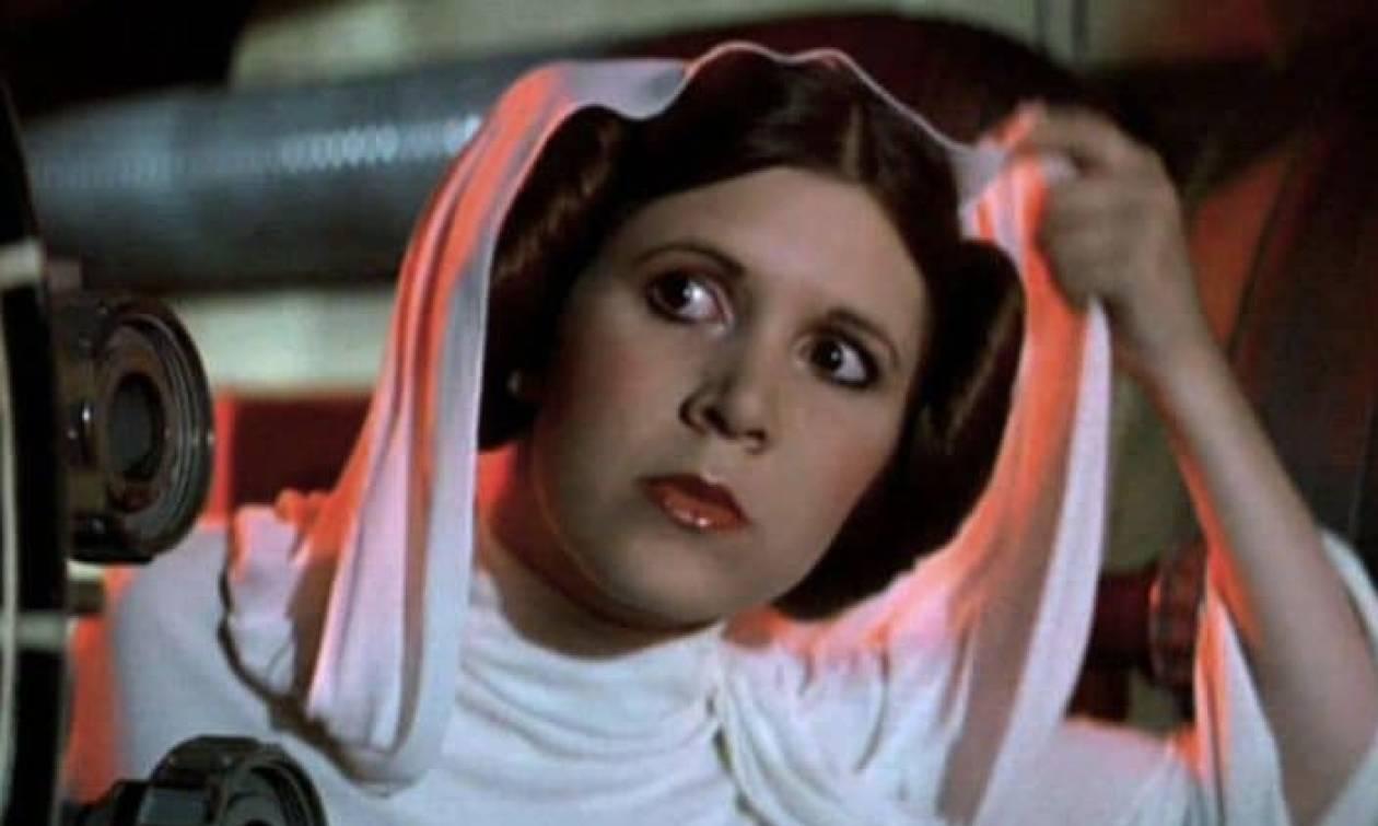 Ώρες αγωνίας για την «πριγκίπισσα Λέια» του Πολέμου των Άστρων - Υπέστη καρδιακό επεισόδιο (pic)