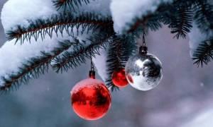 Ο καιρός τα Χριστούγεννα: Πού και πότε θα χιονίσει