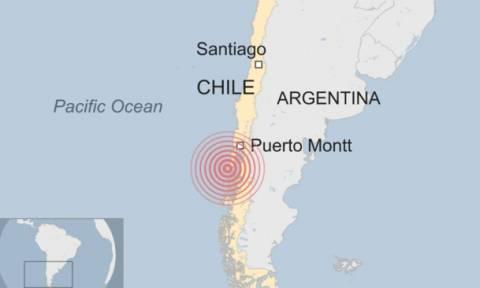 Ισχυρός σεισμός 7,7 Ρίχτερ στη Χιλή