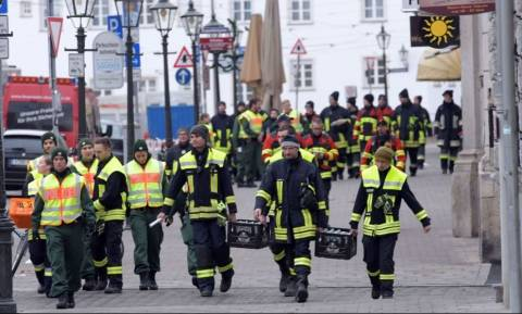 Γερμανία: Λήξη συναγερμού - Εξουδετερώθηκε η βόμβα στο Άουγκσμπουργκ