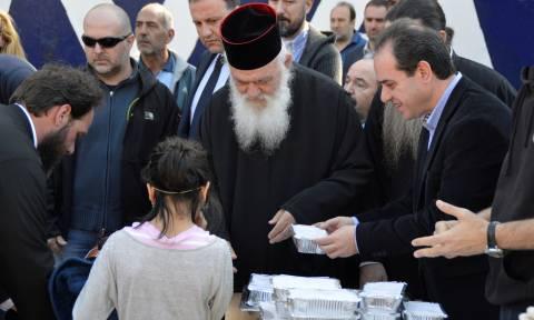 «Αγάπη στον άνθρωπο»: H «Αποστολή» κοντά σε 5.200 οικογένειες της Ελληνικής περιφέρειας (pics)