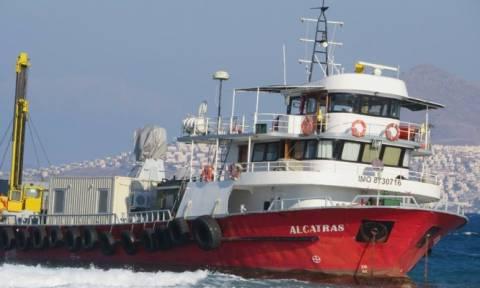 Εξονυχιστικός έλεγχος στο τουρκικό πλοίο που προσάραξε στην Κω