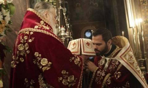 Λειτουργία στη Γέννηση του Χριστού στο ιστορικό κέντρο των Αθηνών