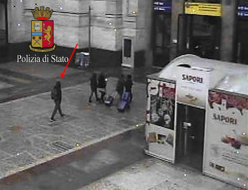 Ντοκουμέντο: Ο μακελάρης του Βερολίνου λίγο πριν σκοτωθεί από Ιταλούς αστυνομικούς (pics)