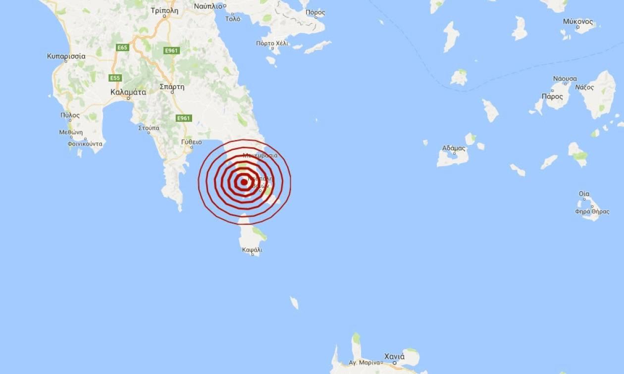 Λακωνία: Δεν έχουν αναφερθεί ζημιές από τη σεισμική δόνηση (pics)