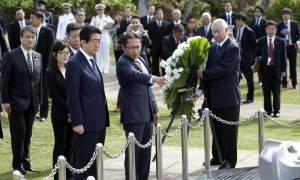 ΗΠΑ: Τους νεκρούς του Περλ Χάρμπορ τίμησαν Ομπάμα και Άμπε