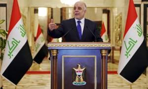 Ιράκ: Ο πρωθυπουργός Αμπάντι δηλώνει ότι το Ισλαμικό Κράτος θα έχει κατατροπωθεί μέσα σε τρεις μήνες