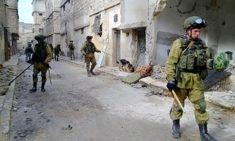 Ο ρωσικός στρατός αντιμέτωπος με το μυστικό που έκρυβε το Χαλέπι (Pics+Vid)