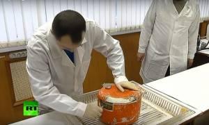 Ρωσία-Σότσι: Ανασύρθηκε και το δεύτερο μαύρο κουτί – Δείτε τη στιγμή που το ανοίγουν (Vid)