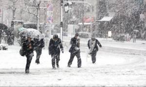 Καιρός LIVE: «Κυκλώνει» την Αττική ο χιονιάς - Θα το στρώσει και στο Σύνταγμα