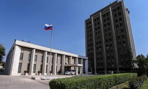 Στόχος διπλής βομβιστικής επίθεσης η ρωσική πρεσβεία στη Δαμασκό