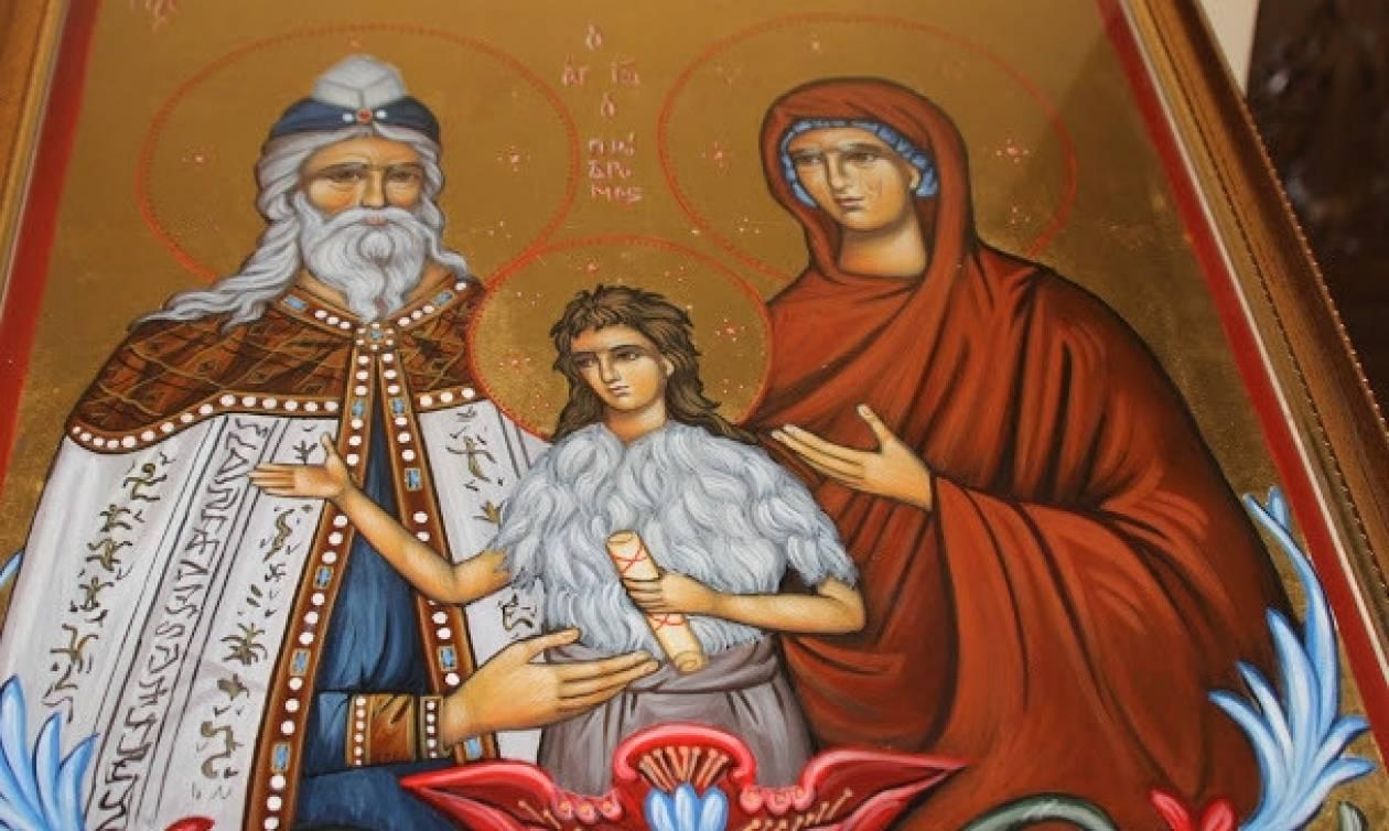 Πώς ο Άγιος Ιωάννης ο Πρόδρομος σώθηκε από τη σφαγή των νηπίων που διέταξε ο Ηρώδης;
