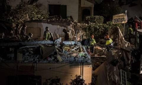 Έκρηξη στην Ιταλία: Κατέρρευσε κτήριο - Αγνοούνται δύο γυναίκες (vid)